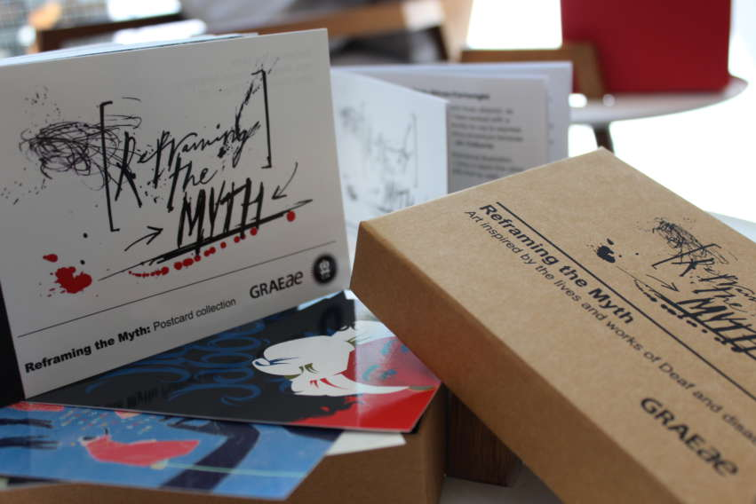 Postcards & prints inspired by Graeae artists