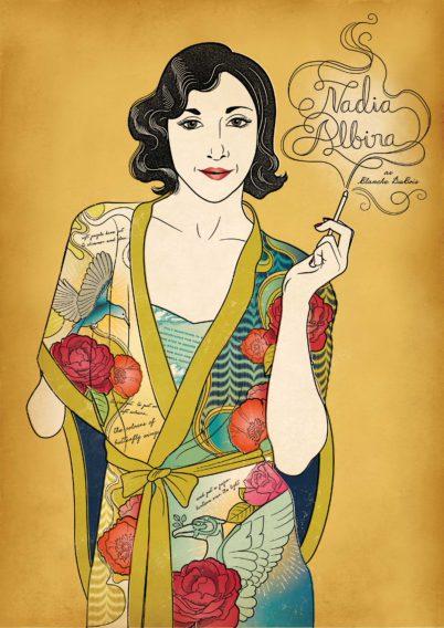 Nadia Albina by Susan Burghart