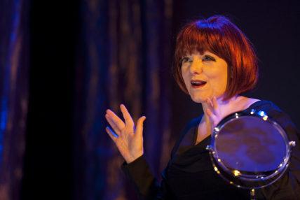 Image of Woman singing