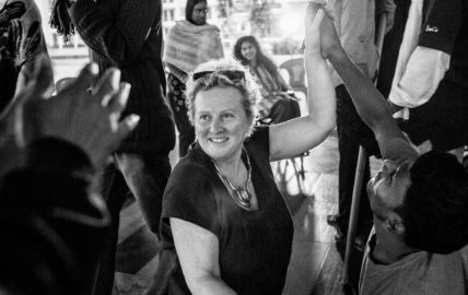 Jenny Sealey in Bangladesh for A Different Shakespeare project
