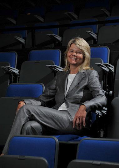 Image of Sarah Jane Dickenson sitting down