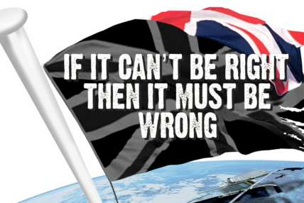 If it can't be right then it must be wrong logo