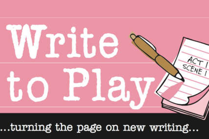 Write to Play...turning the page on new writing...