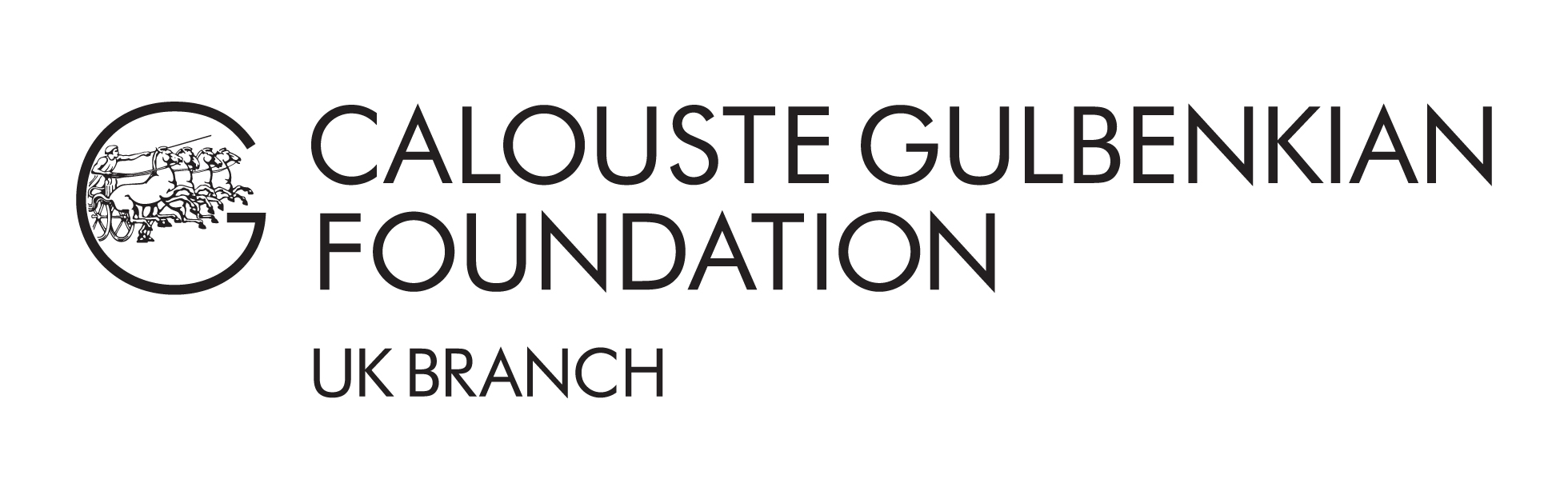 Logo for Calouste Gulbenkian Foundation - UK Branch