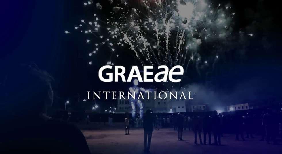 Prometheus Awakes with Graeae International logo
