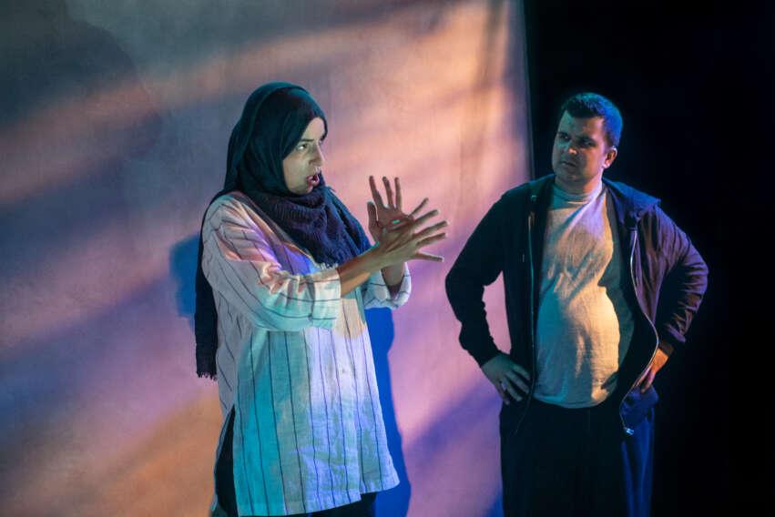 Sumayya Si-Tayeb and Safyan Iqbal, 10 Nights, photo Ali Wright -4
