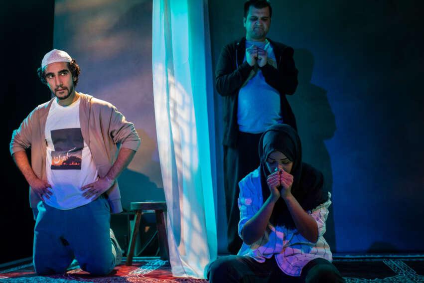Zaqi Ismail, Sumayya Si-Tayeb and Safyan Iqbal,10 Nights, photo Ali Wright