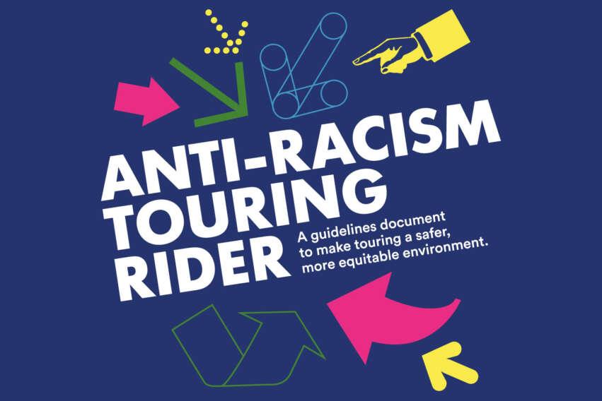 Anti-Racism Touring Rider